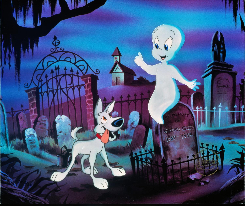 Картинки с привидениями из мультиков, открытка днем рождения