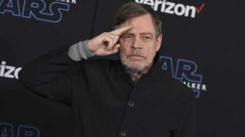 Herec Mark Hamill.