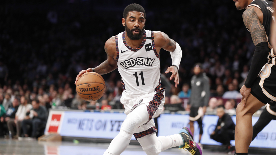 Basketbalista Kyrie Irving.