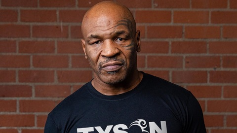 Boxerská legenda Mike Tyson.